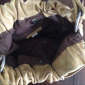 Aldo Bags - ALDO Yellow Leather Shoulder Bag